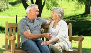 me4540771-elderly-couple-sitting-bench-talking-south-africa-hd-a0155-poster